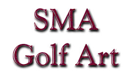 SMA Golf Art- PGA, LPGA, Doug London, Augusta, Griffs, Ryder Cup, Sculptures
